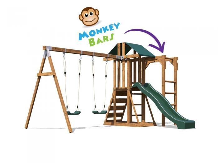 JuniorFort Monkey W3.8m x D2.9m | Climbing Frames