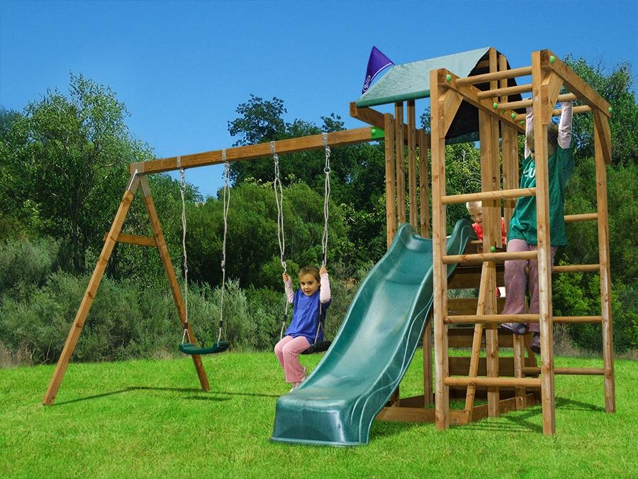 childrens climbing frame swing sets slide monkey bars play house garden kids uk ebay. Black Bedroom Furniture Sets. Home Design Ideas
