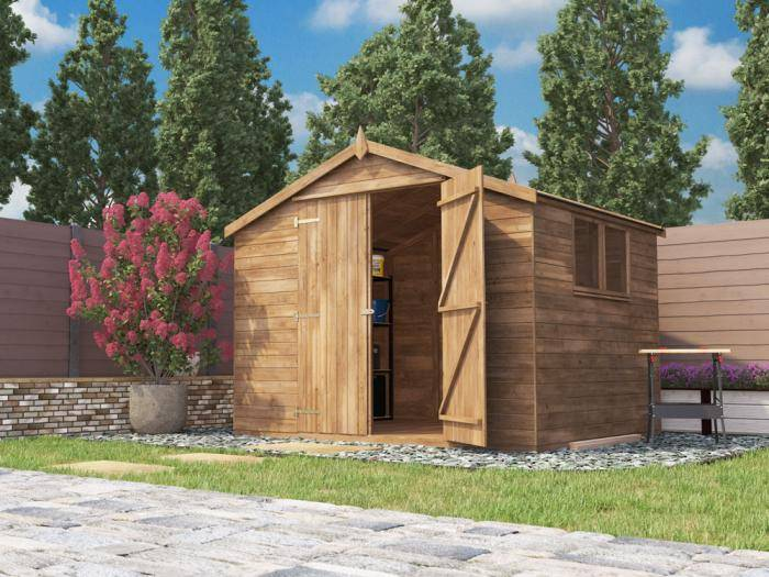 Latli Pressure Treated Shed W3.05m x D2.44m | Sheds