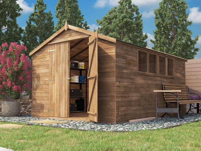 Latli Heavy Duty Pressure Treated Shed | Sheds & Storage