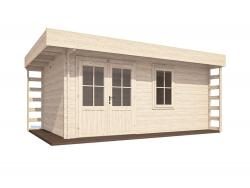 PremiumPlus Lexa Log Cabin W5.5m X D3.5m ...
