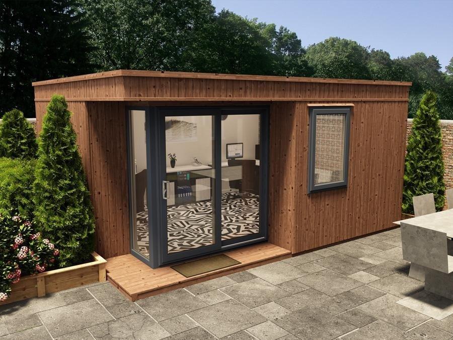 Lienne MKIII Left W50m X D39m Garden Offices