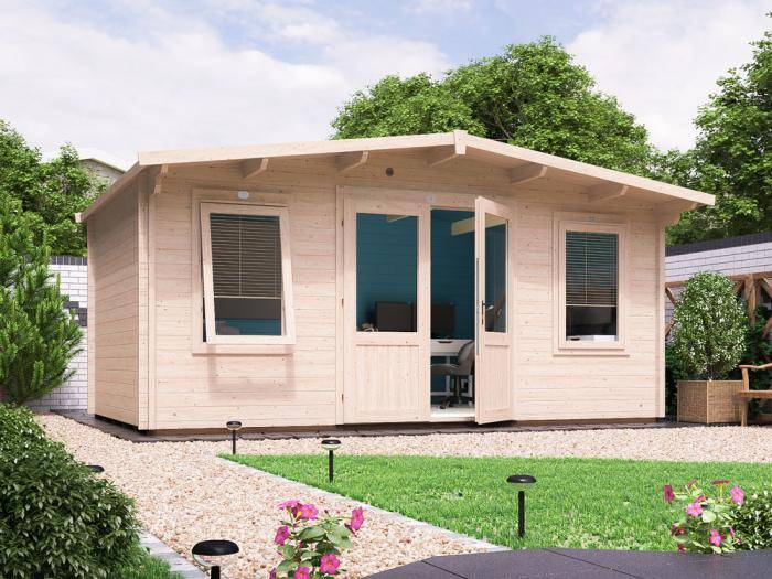 Severn Log Cabin W5.0m x D3.0m | Log Cabins | Dunster House