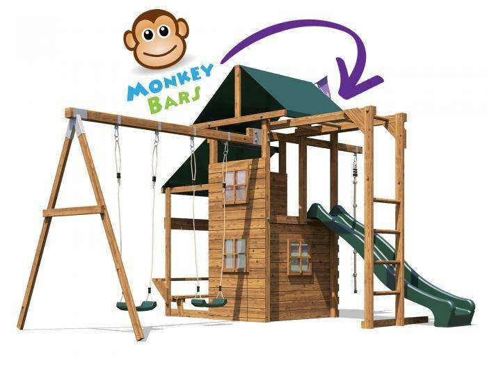 ManorFort Stronghold Climbing Frame