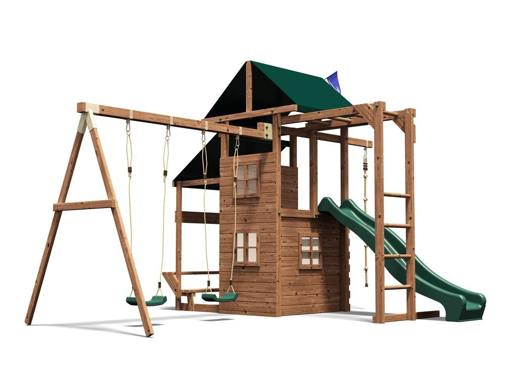 swing set climbing frame childrens garden swings slide monkey bars ladder play ebay. Black Bedroom Furniture Sets. Home Design Ideas