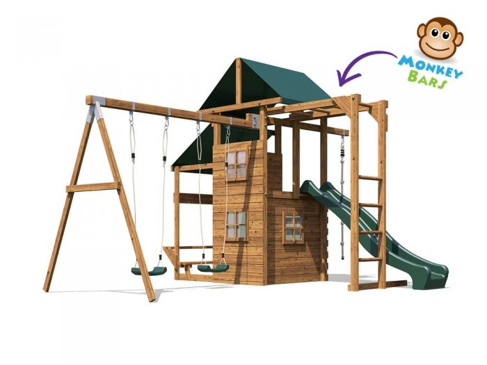 ManorFort Stronghold W4.4m x D3.9m | Climbing Frames