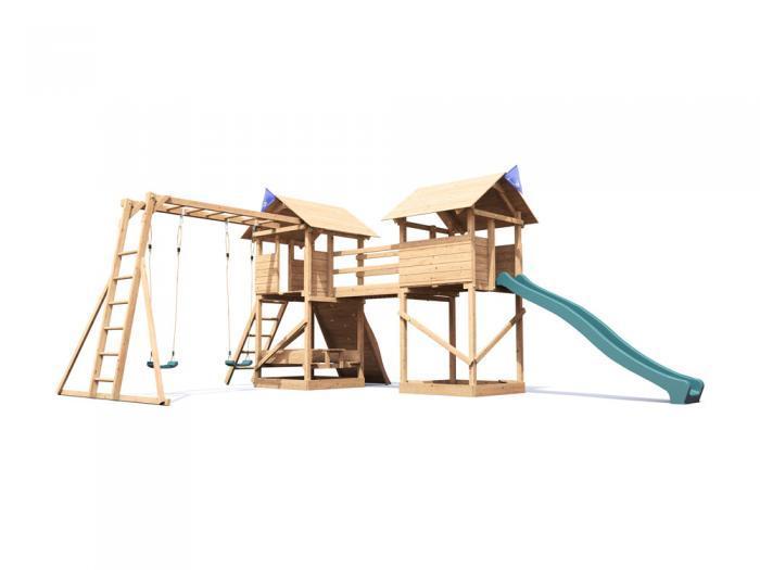 MegaFort Mountain MKII W7.1m x D4.9m | Climbing Frames