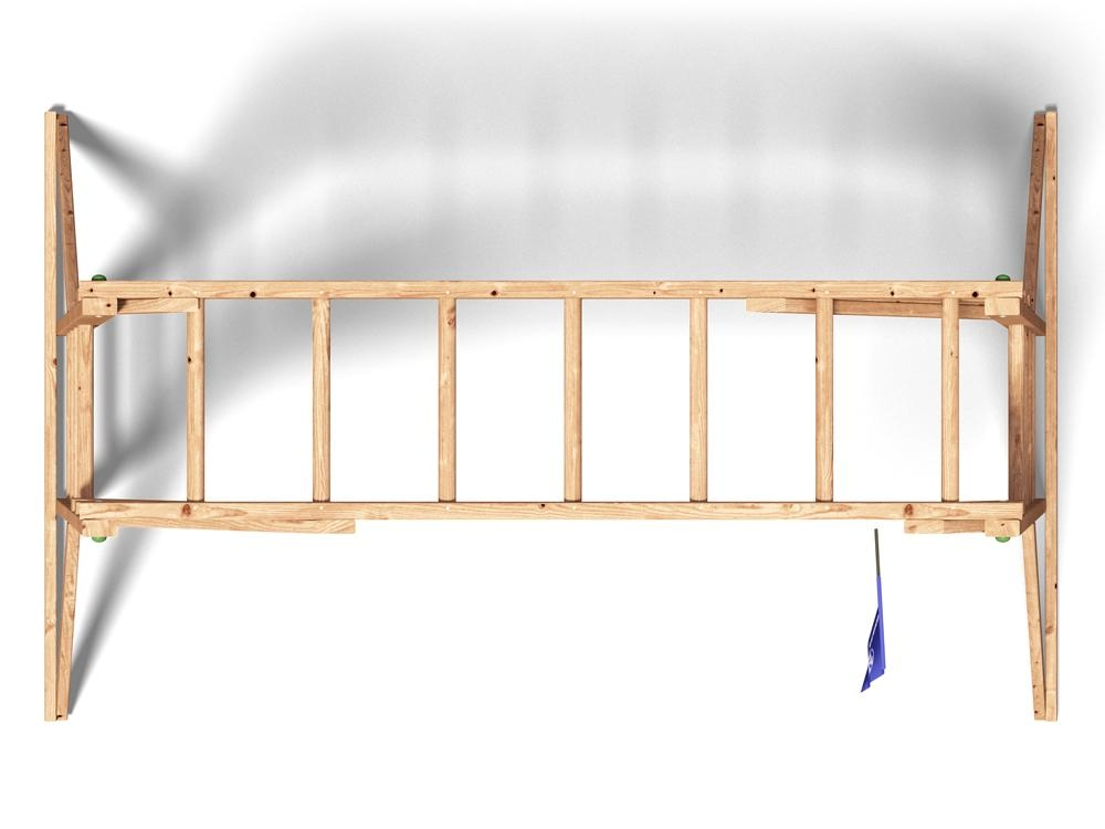 kids monkey bars childrens wooden climbing frame timber garden uk 5055438713751 ebay. Black Bedroom Furniture Sets. Home Design Ideas
