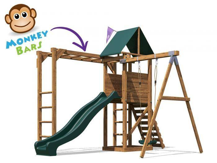 MonkeyFort Wilderness Climbing Frame