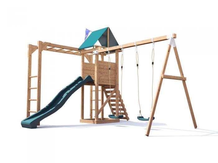 Climbing Frames | Wooden Climbing Frames & Play houses | Dunster House