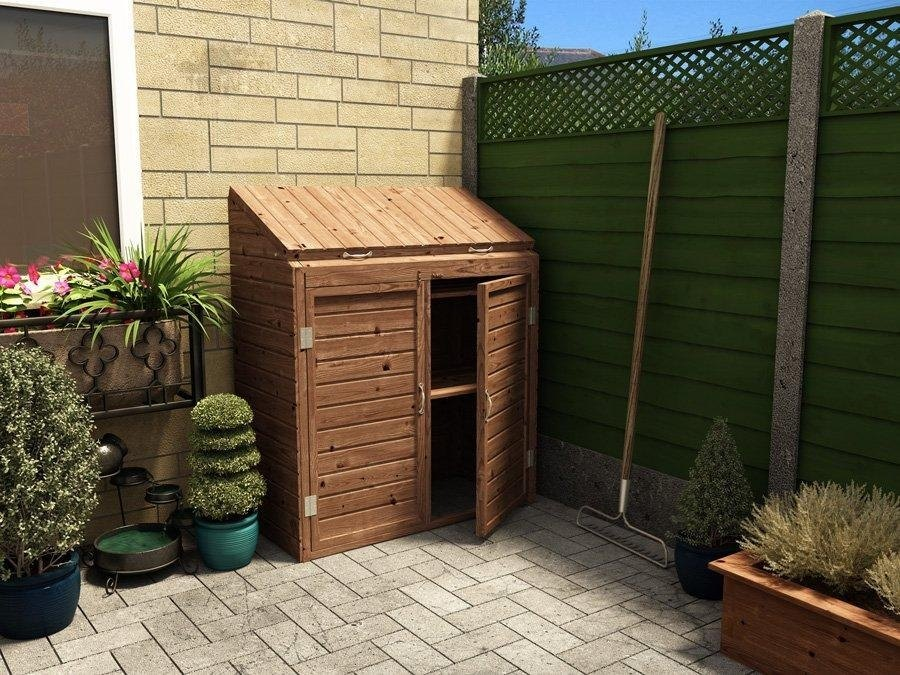 mini storage shed welly boots storage garden supplies