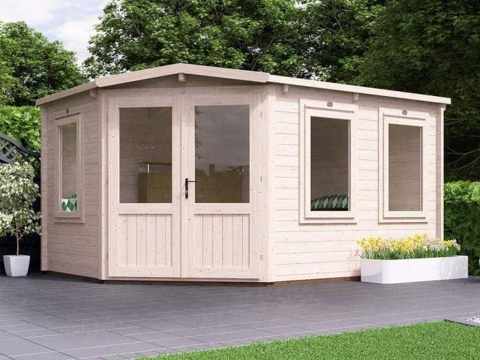 Radley Corner Log Cabin | Log Cabins