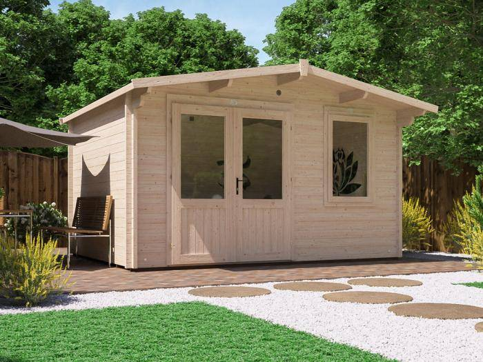 Rhine Log Cabin   Log Cabins