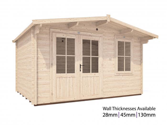 Rhine Log Cabin W4.0m x D3.0m | Log Cabins