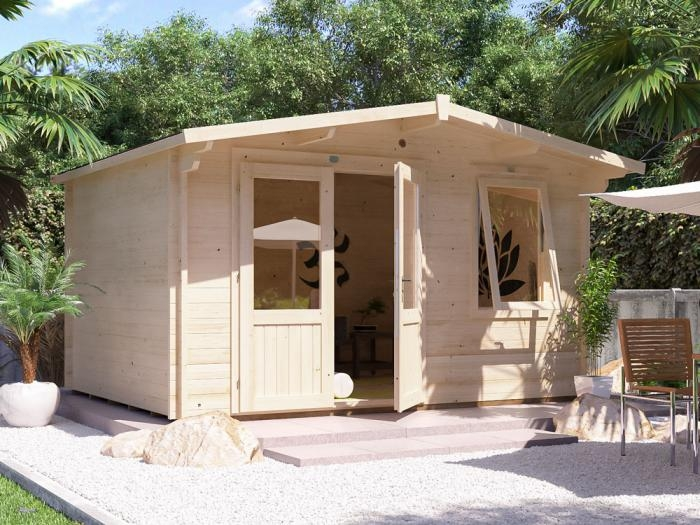 Rhine Log Cabin W4.0m x D3.0m   Log Cabins   Dunster House