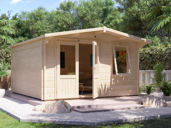 Rhine Log Cabin W4.0m x D4.0m | Log Cabins | Dunster House
