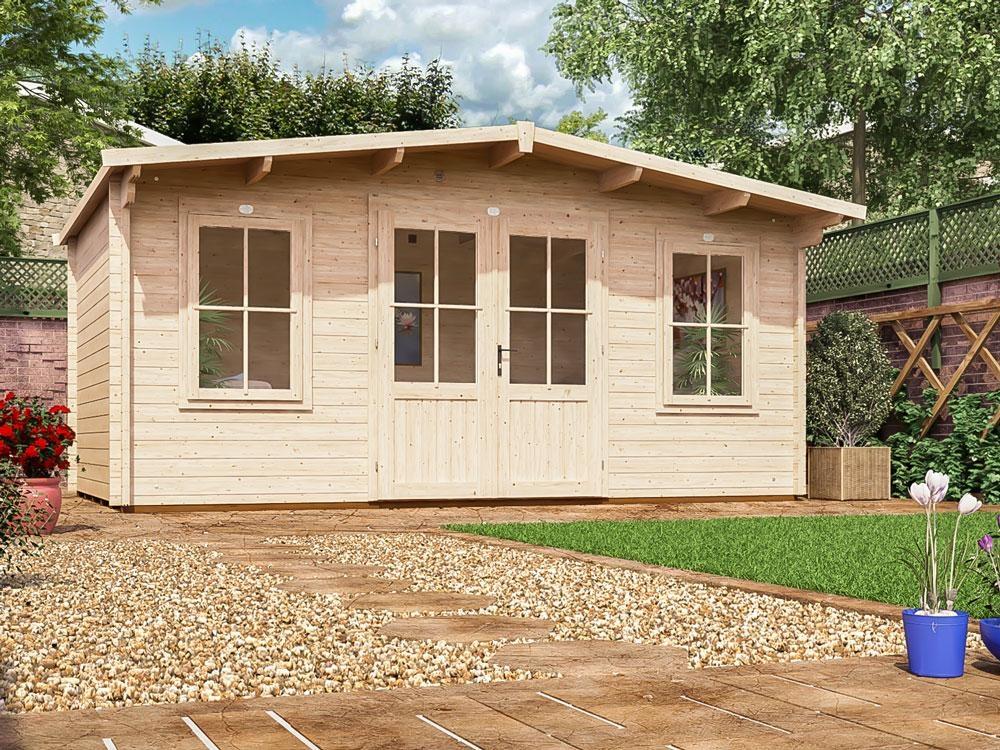 Garden Log Cabin Man Cave Home Office Summer House