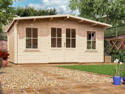 Severn Log Cabin W5 0m X D4 0m Log Cabins