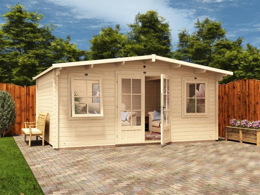 Premiumplus Severn Log Cabin W5 0m X D4 0m Log Cabins