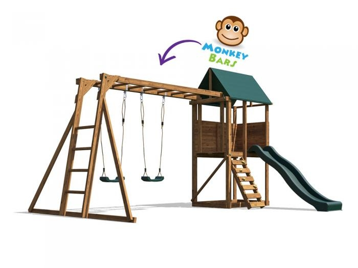 SquirrelFort W4.1m x D3.3m | Climbing Frame | Dunster House