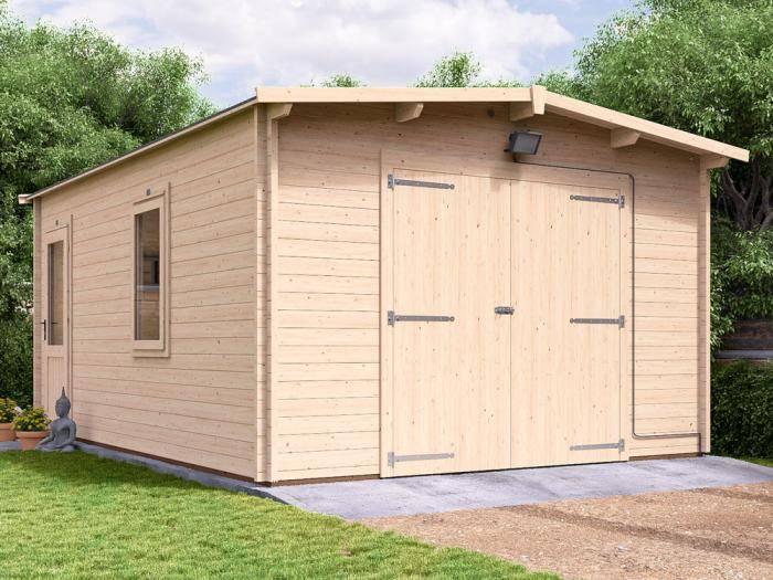 Trent Wooden Garage W3.97m x D5.5m | Garages