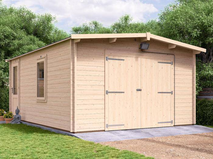 Trent Lo-Roof Wooden Garage Inc. Barn Doors | Garages