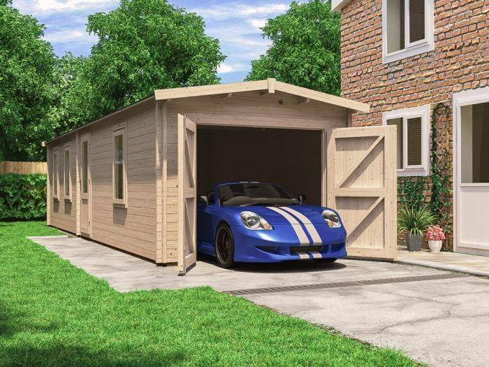 Trent Tandem Lo-Roof Garage Inc. Barn Doors