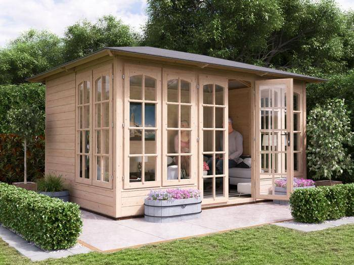 Valiant 350 Summerhouse W3.5m x D2.5m | Summer House