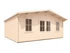 Vanguard Log Cabin W5.9m x D5.0m