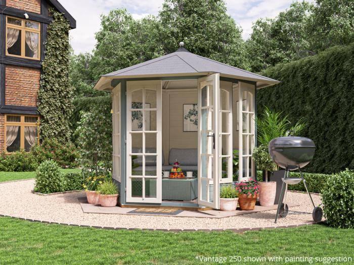 Vantage 250 Summerhouse W2.5m x D2.1m | Summer House