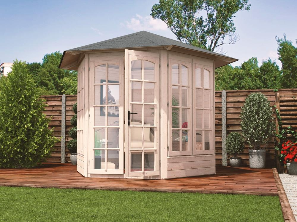 Vantage 250 summerhouse x summerhouses for Pictures of small houses with garden