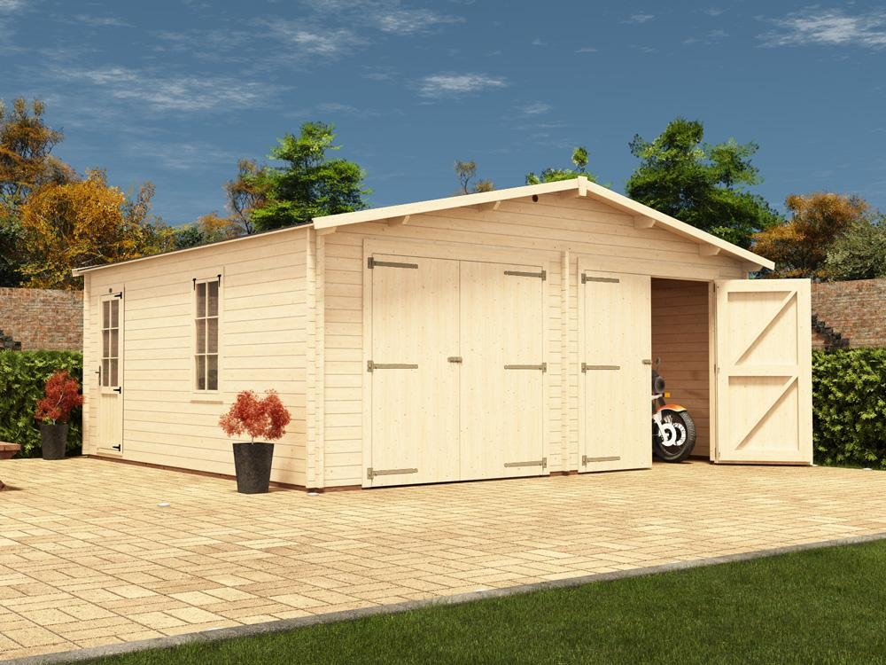 Deore Double Wooden Garage W5 9m X D5 5m Garages Make Your Own Beautiful  HD Wallpapers, Images Over 1000+ [ralydesign.ml]
