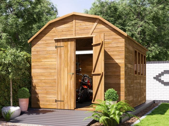 Yankee B High Heavy Duty Shed