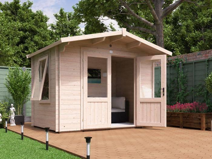 Avon Log Cabin W3.0m x D2.0m   Log Cabins   Dunster House