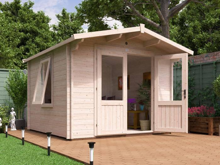 Avon Log Cabin W3.0m x D3.0m | Log Cabins | Dunster House