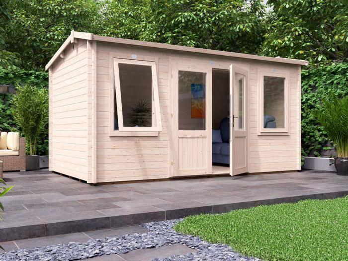 Lantera Log Cabin W4.5m x D2.5m | Log Cabins | Dunster House