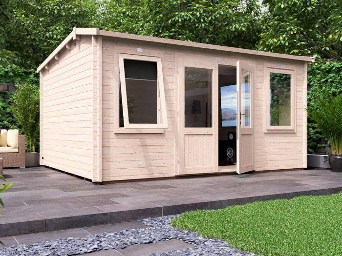 Lantera Log Cabin W4.5m x D3.5m | Log Cabins | Dunster House