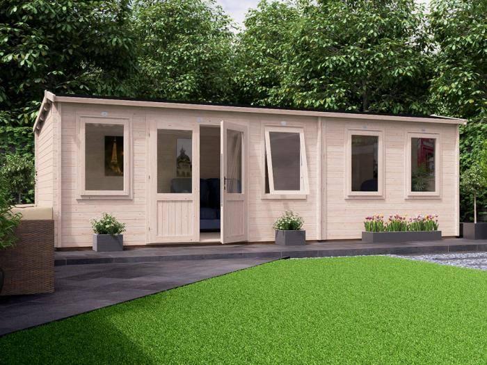 Lantera Grande Log Cabin W7.5m x D3.5m | Log Cabins