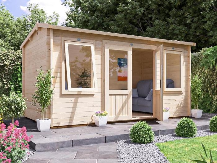 Lantera Log Cabin W4.5m x D2.5m   Log Cabins   Dunster House