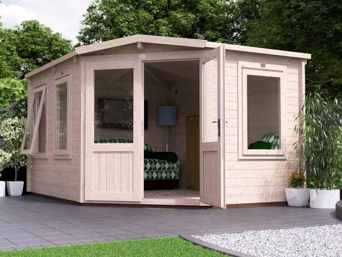 Radley Log Cabin W3.0m x D4.0m | Log Cabins | Dunster House