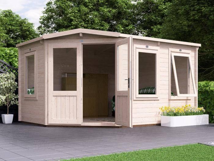 Radley Log Cabin W4.0m x D3.0m | Log Cabins | Dunster House