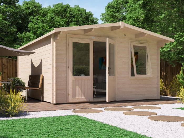 Rhine Log Cabin W4.0m x D5.0m | Log Cabins | Dunster House