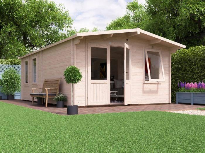 Rhine Grande Log Cabin W4.0m x D6.0m | Log Cabins