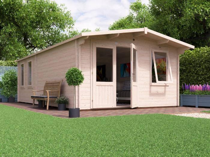 Rhine Grande Log Cabin W4.0m x D7.0m | Log Cabins