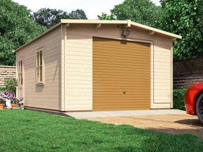 Trent Garage W3.97m x D5.5m inc. Metal Door