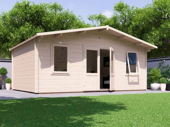 Vanguard Log Cabin W5.9m x D4.0m | Log Cabins | Dunster House