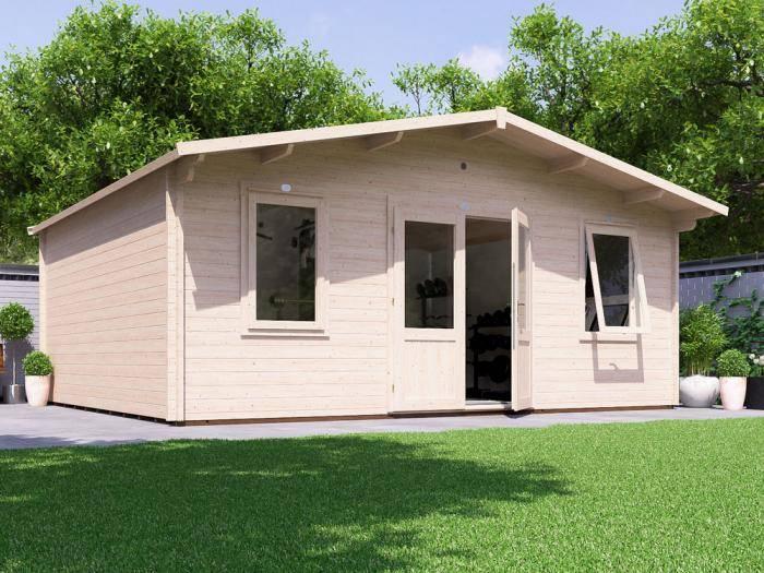 Vanguard Log Cabin W5.9m x D5.0m | Log Cabins | Dunster House