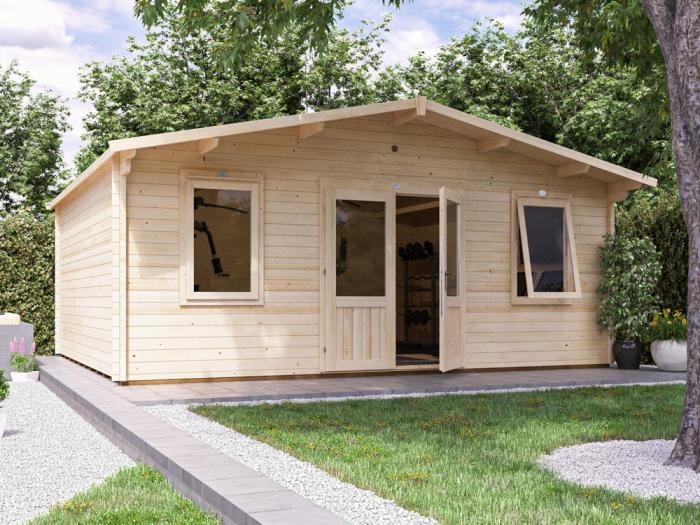 Vanguard Log Cabin W5.9m x D5m   DIY Garden Room Kits