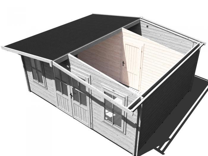 Storage Wall & Single Solid Door | Extras