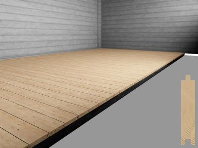 19mm Floor & 19mm Roof Included